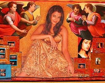 "Angels Sing artwork (2005) 20""x14"""