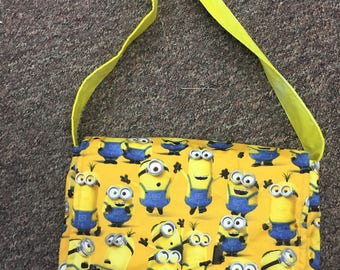 iPad Messenger Bag - Minions