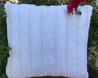 Winter Sweater Pillow