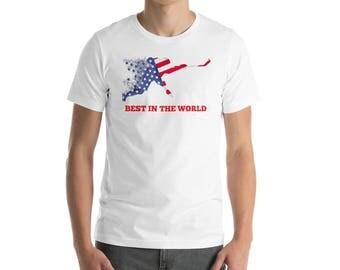 Commemorative American Team 2018 PyeongChang Olympics Hockey T-Shirt