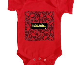 Keith Haring (Red)