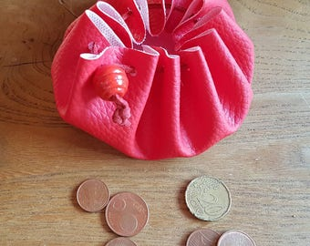 Leatherette purse