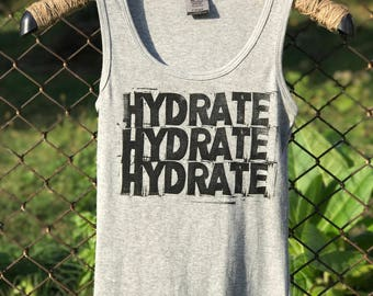 HYDRATE, HYDRATE, HYDRATE
