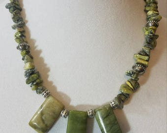 Statement Necklace, Beaded Necklace, Handmade Necklace