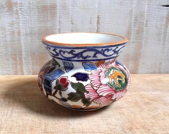 Gien France 1971/1984 fine earthenware jar