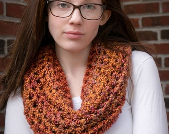 "Simple Cowl: ""Fallen Leaves"""