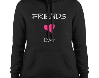 Best Friends Matching Hooded Hoodie Sweatshirt, Friends, Forever, Ladies, Bestie, Gift, Besties, Best Friend