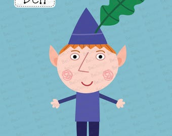 Ben the Elf from Ben and Hollys Little Kingdom