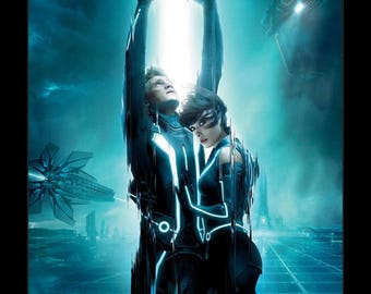 Tron Legacy - 11x17 Framed Movie Poster