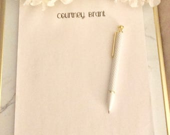 Personalized Note Pad - Simple