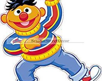 Nine Inch Ernie Wall Decal