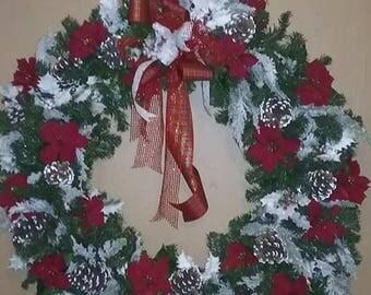 """36"""" Artificial Christmas Wreath"""