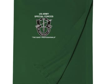 US Army Special Forces Embroidered Blanket-3352