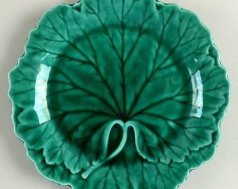 Salad Plate in Green Glaze by Wedgwood