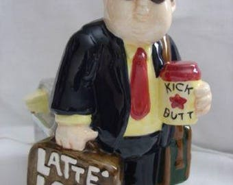 Latte Loot Ceramic Bank