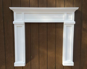 Shop for faux fireplace mantel on Etsy