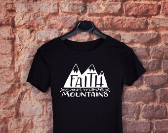 Faith can move Mountains *FREE SHIPPING through Valentine's Day