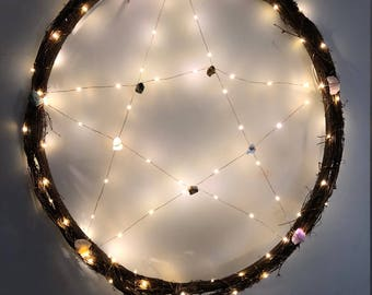 Wiccan Wall Wreath