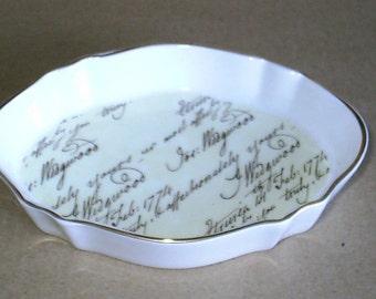 Wedgwood Bicentenary Celebration Oval Tray