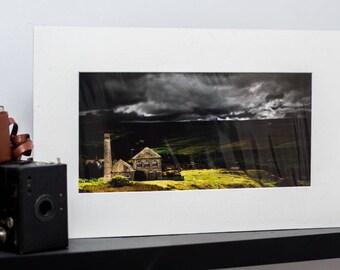 The Pump House  -Mounted Landscape Photograph