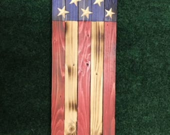 Decorative American Wood Sign