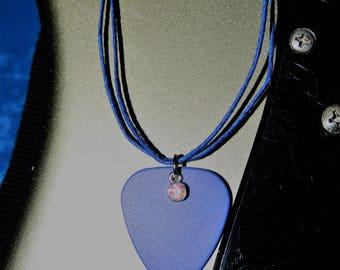 Guitar Pick Necklace - Jewel