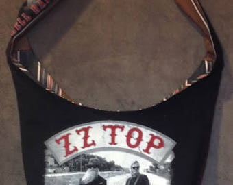 ZZ Top 2016 Hell Raises Tour Crossbody Bag