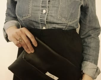 Beautiful clutch made in faux leather