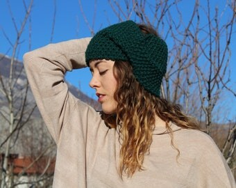 Turban,Knitted Turban,Handmade Turban