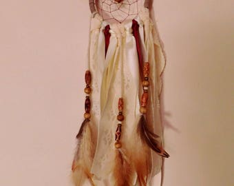 Teaparty Rose Dreamcatcher