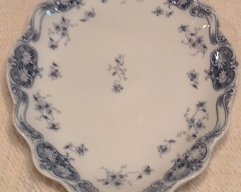1880s Antique Oval Platter by Charles Meakin