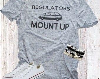 Regulators Mount Up Womens T-Shirt