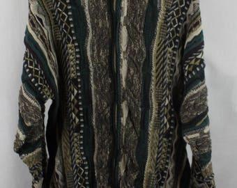 Vintage 90s Coogi Style Sweater Sz L