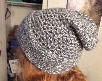 Crochet Trendy Slouch Winter hat