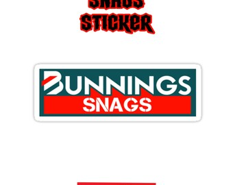 Bunnings Snags Yeah The Boys YTB Decal Sticker