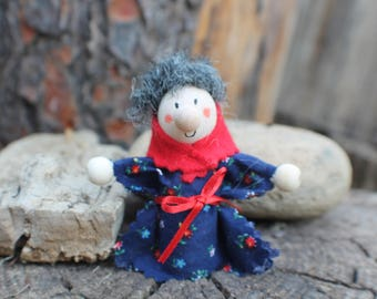 Kitchen Witch / Strega Nove - Kitchen Witch doll - Good Luck Doll