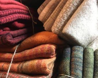 Wool ~ Half Yard Mixed Medley