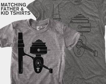 Matching Shirts - Fishing Reel (Men & Kid)