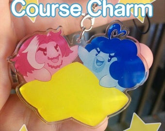 """Grumps Dream Course 2"""" charm and Print"""