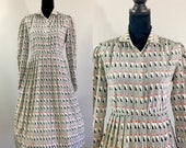 Mod Vintage Secretary Dress, Silk Dress, Mad Men Dress, Joan Holloway Dress, Zooey Deschanel, Vintage Size large, Rockabilly Dress, LVL, Red