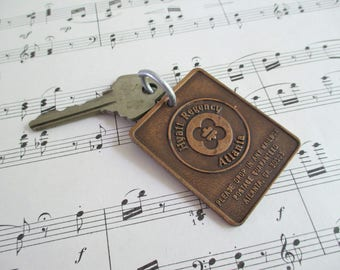 Vintage Hotel Fob and Key - Hyatt Regency Atlanta