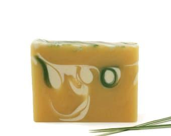 Citrus Lemongrass Soap | Essential Oil Soap, Natural Soap, Citrus Soap, Swirled Soap, Gift Idea For Women, Men, Him, Her, Friends