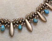 Tutorial Bella - a Beth Stone original seed bead stitch, seed bead design, seed bead tutorial, instructions, pattern