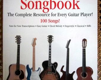 The GREATEST GUITAR SONGBOOK | Guitar Tablature Lyrics