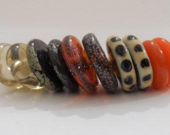 Lampwork Beads, Handmade Glass Beads, Handmade Supplies, Glass Art Beads