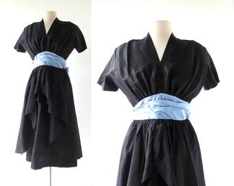 1940s Party Dress | Night and Day | 40s Dress | Small S
