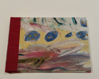 Painted Hard Canvas Journal 1