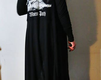 Mortuary Drape Hooded Robe