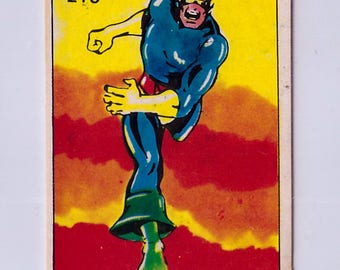 Rare 1980 Marvel Super Heroes Cyclops 215 Sticker