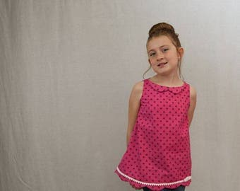 Girls A-Line Dress and Tunic PDF Pattern ... Jane's Plain Dress & Tunic Top